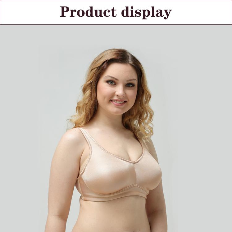 Sıcak satış büyük büstü sütyen yağ boyutu 40 kadın sutyen ile yüksek kalite