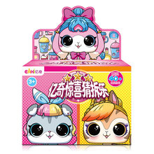 Новая оригинальная игрушка Eaki для создания детских пазлов, детская забавная игрушка для девочек DIY, кукла принцессы, оригинальная коробка, м...(Китай)