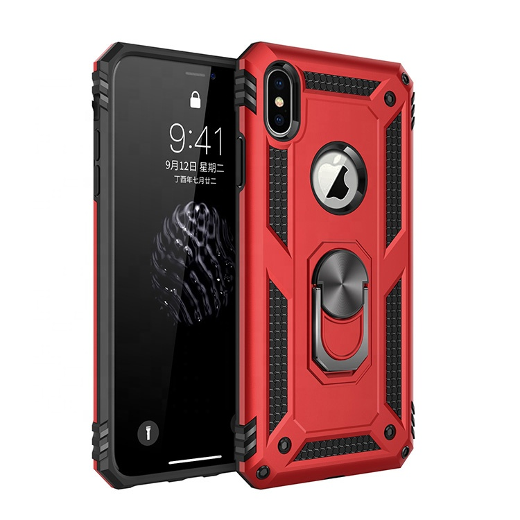 Newest Styles Developed 2 In 1 Ring Stand TPU PC Digital <strong>Phone</strong> Case for Huawei Y9 Prime P20 Lite Mate 20 X P30 Pro nova 5 5i 30