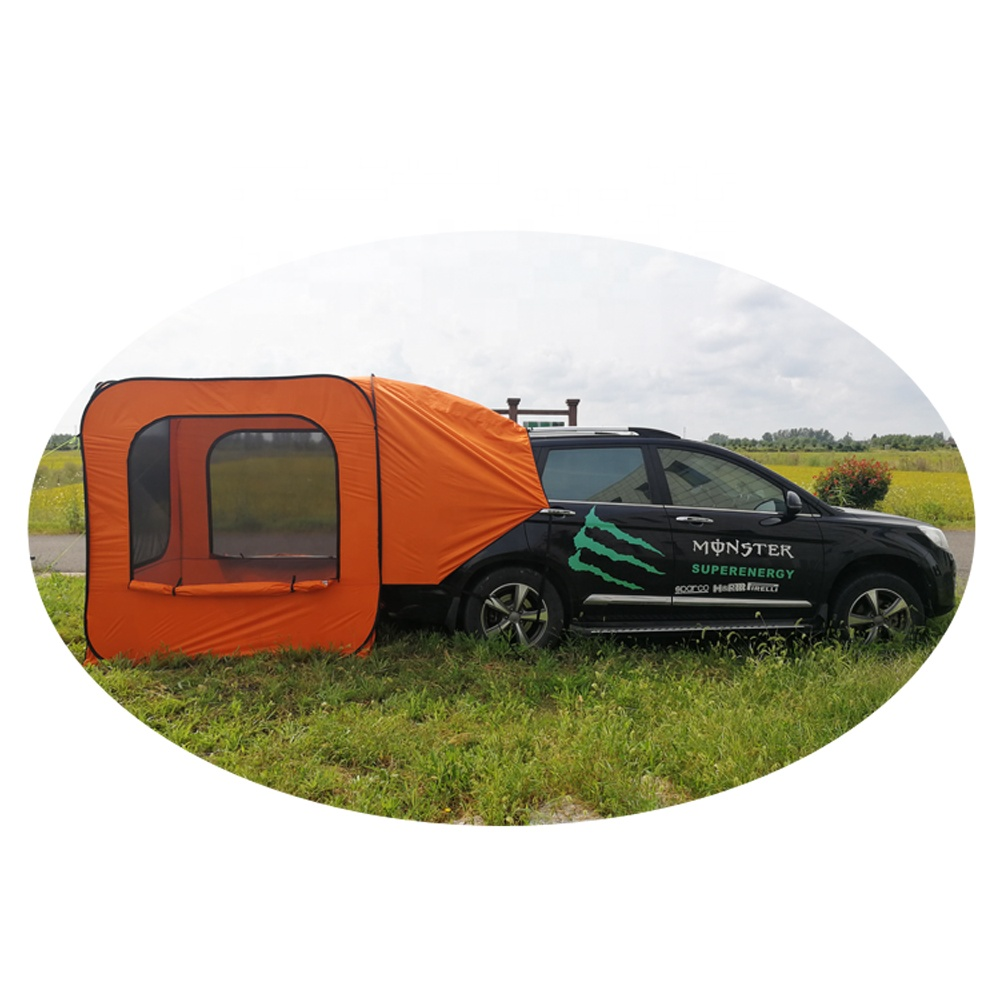 Easy set up SUV tailgate shade awning tent for Picnic Sport Events Music Festivals Outdoor Camp Fishing Hike
