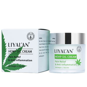 Private Label Natural Hemp Extract Cream for Muscle Pain Relief