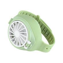 Маленький ручной вентилятор для часов, маленькая бытовая техника, креативный кондиционер, мини вентилятор, ленивый вентилятор(Китай)
