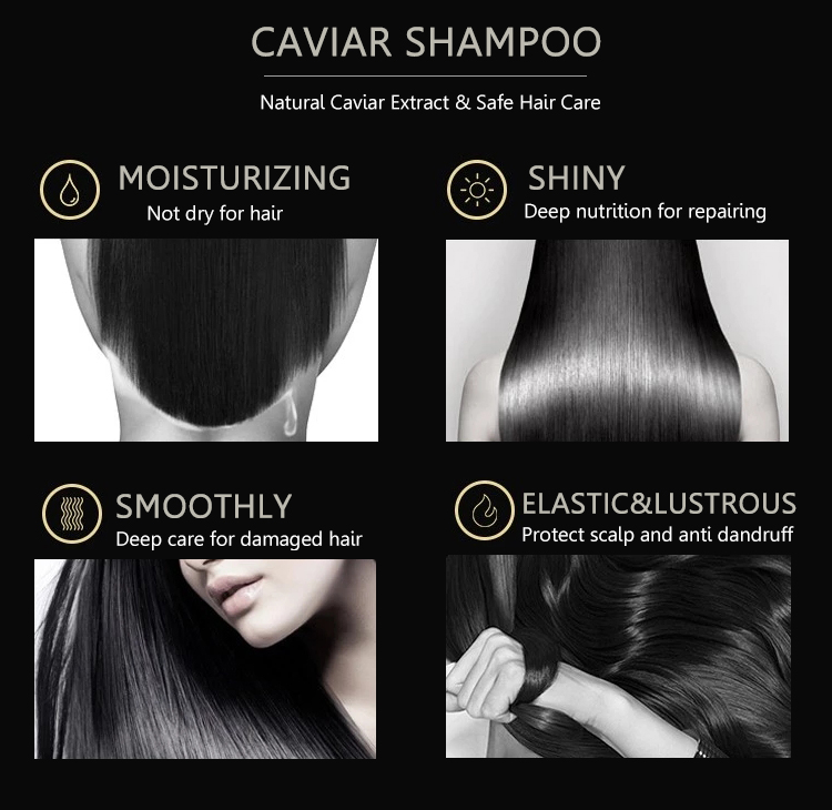 The best Caviar Shampoo and Hair Conditioner leaves your hair soft clean manageable Moisturziing Shampoo