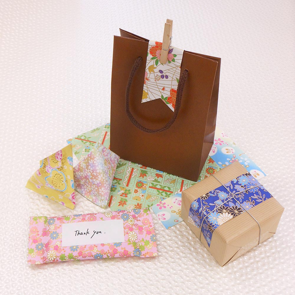 Traditional Pattern Yuzen Chiyogami Colour Paper Handmade Origami Sheets