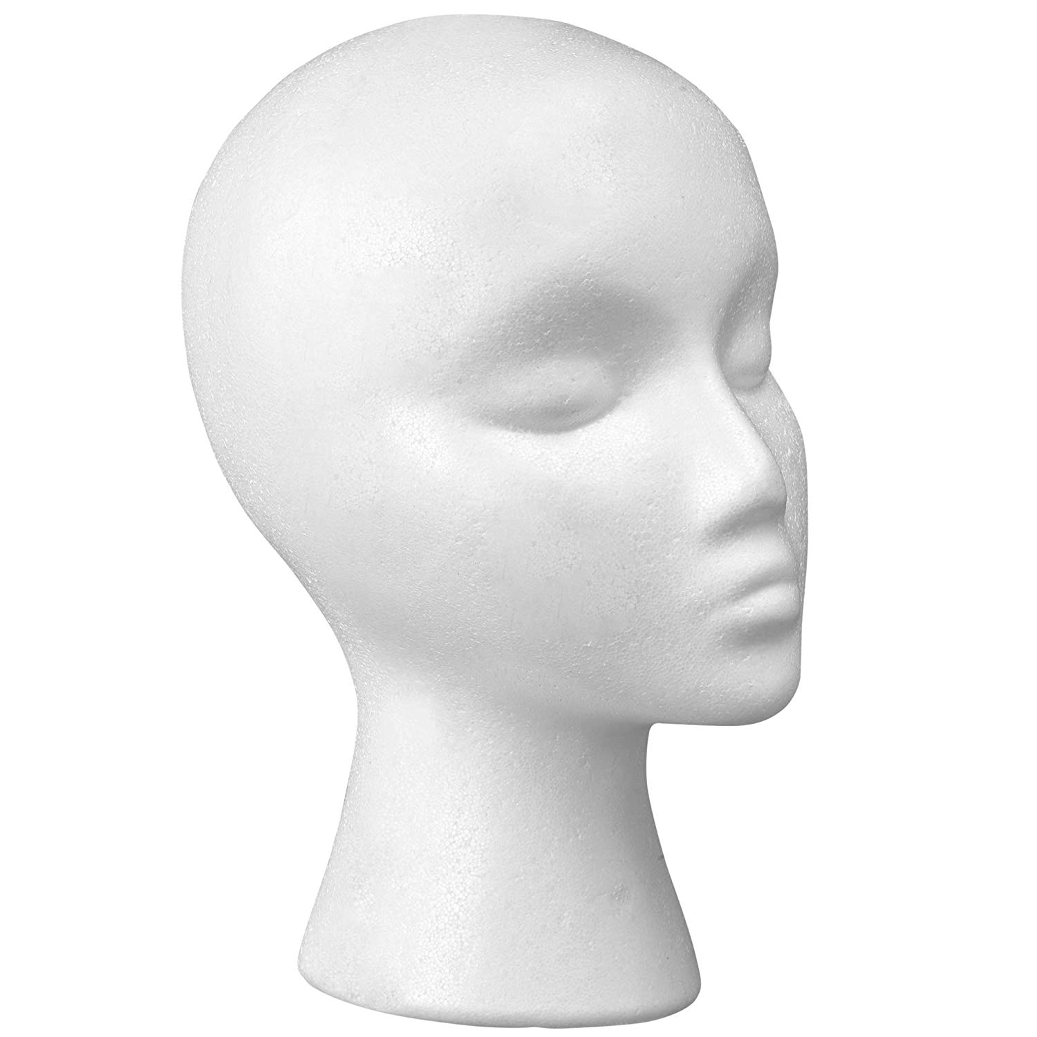 sales promotion wig styrofoam head