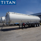 TITAN 3 Axles 40000/50000 Liters Oil/Fuel/Diesel/Gasoline/Crude/Water/Milk Transport Steel Tank/Tanker Monoblock Truck Trailer