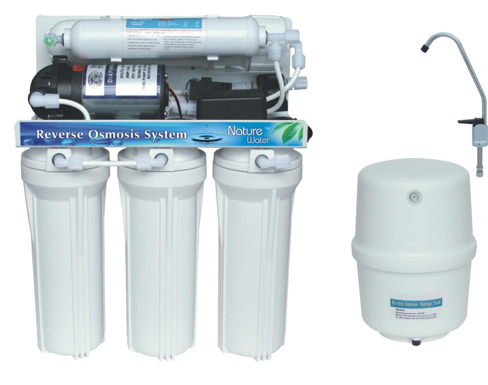 50 GPD 5 Stages Used RO <strong>Water</strong> Purifier <strong>System</strong> Portable Sale With Auto-Flush