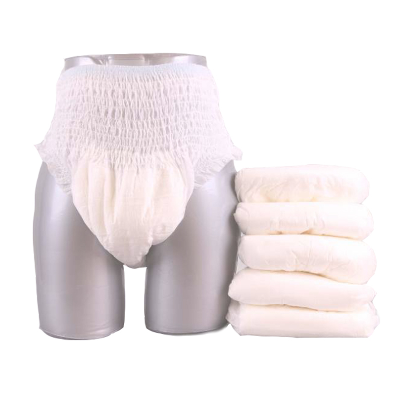 OEM Printed Vietnam High Quality Loose Sexy Disposable Pant Type Adult Pull Up Diaper Manufacturer in China