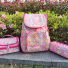 School Bag School Hot Sale High Quality Custom Made Durable 3 Pcs Polyester School Bag Backpack Set