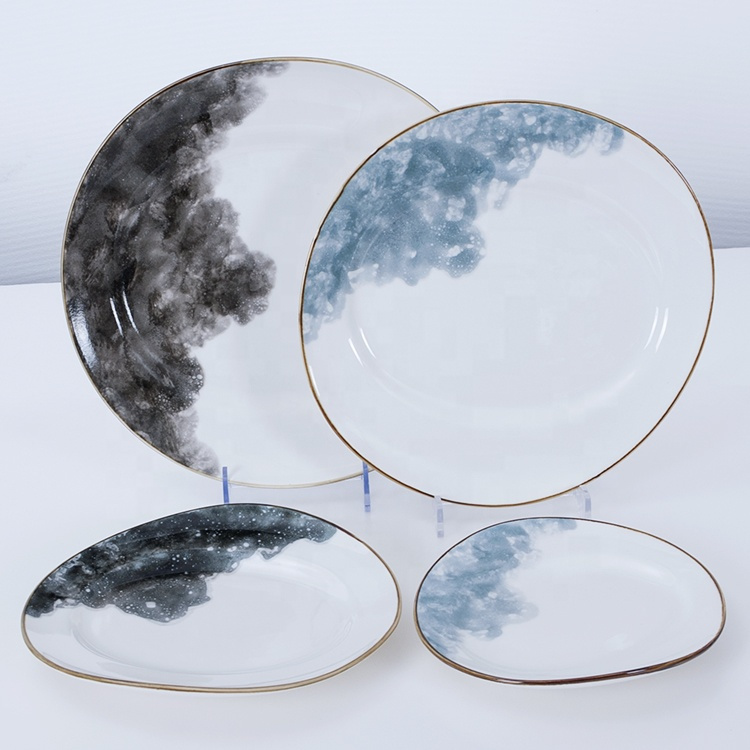 nordic ceramic plates tableware