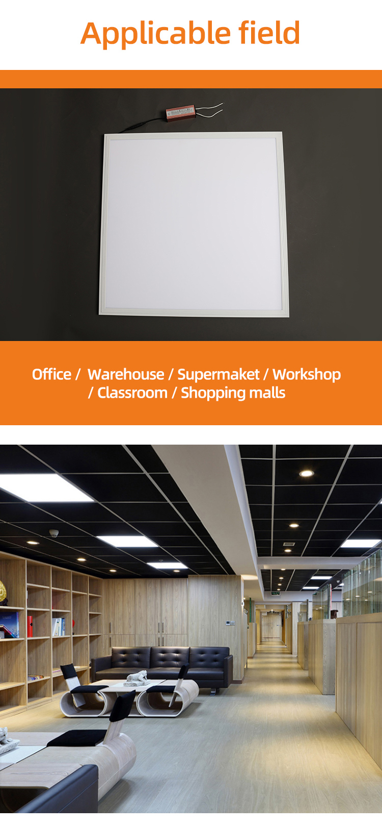 factory price 600x600 ceiling led light panel with CE RoHs certificate