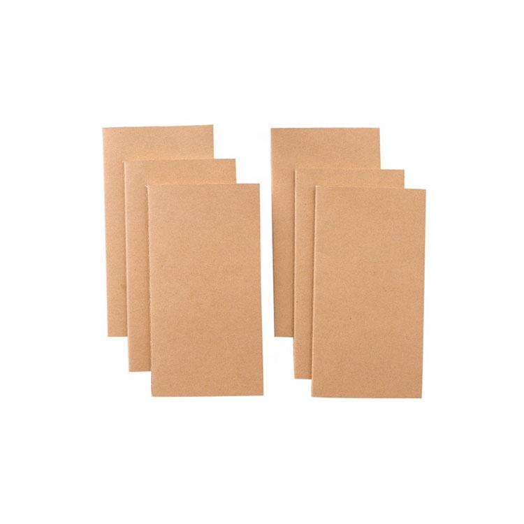 Impresión personalizada reciclado cubierta suave la escuela ejercicio libro de papel Kraft estudiante cuaderno