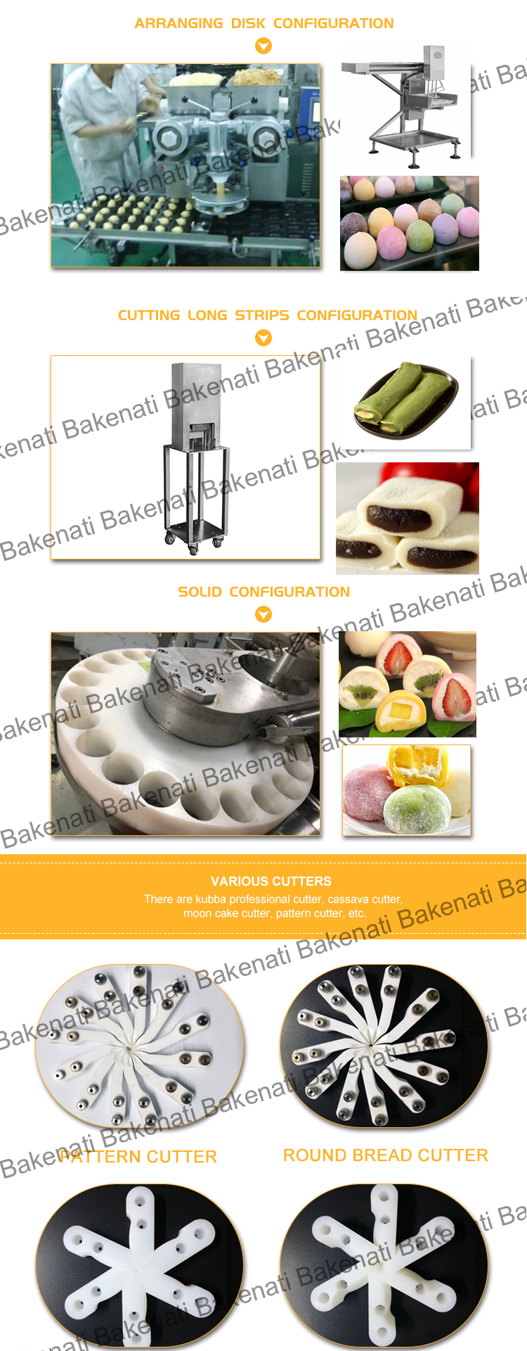BNT-400 High Capacity Ice Cream Mochi Machine Encrusting And Tray Arranging  Forming Machine