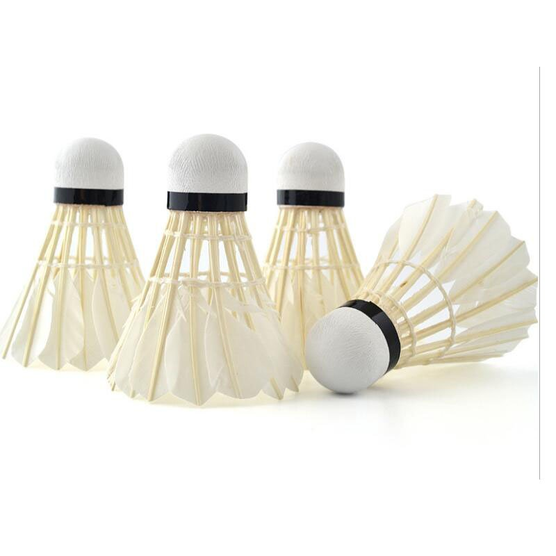 Training Sports Shuttlecocks Goose Feather Ball Sports Game Badminton