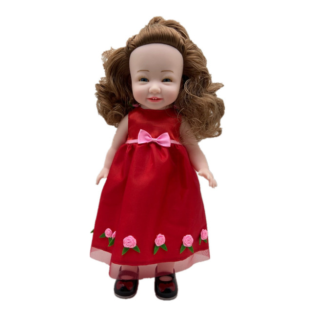 SEDEX Audit Factory Selling New Born Realistic Vinyl Smiling Baby Mini Dolls Princess Toy