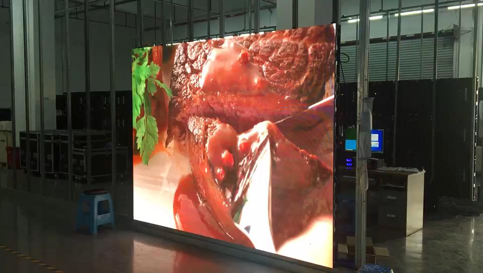 Indoor p2.5 p3 p3.91 p4 p5 full color rental led screen panels