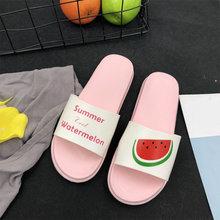 Женщины Летняя женщина Тапочки Мода Милые дамы Повседневный скольжению на Мармелад Бич Флип Женской Вьетнамки Слайды Крытый обувь 2020(Китай)