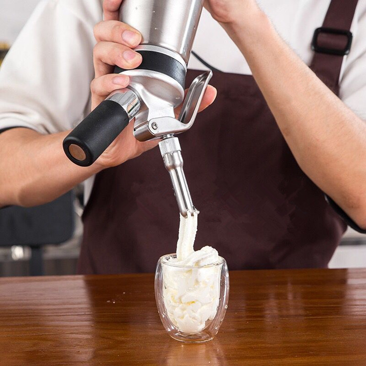 1L edelstahl Creme Whipper Foam Maker creme dispenser