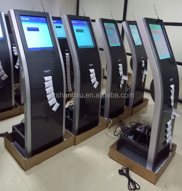 OEM/ODM रंग और लोगो अनुकूलन बुद्धिमान बैंक टच स्क्रीन कतार प्रणाली टिकट निकालने की मशीन कियोस्क कतार संख्या मशीन