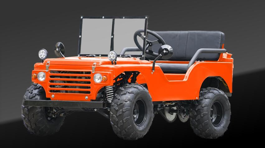 Telee Vehical High Quality ATV Full Accessories China manufacturer 150cc Willys Auto 3+1 Go Cart Adult Kids Suitable