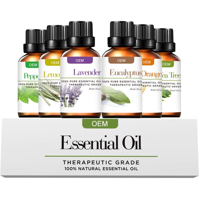 Minyak Esensial Oem dan Odm untuk Minyak Esensial Aromaterapi Murni