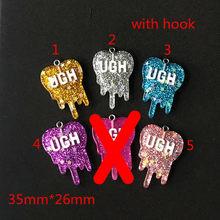 10 шт 26*35 мм амулеты из смолы амулеты ожерелье подвеска брелок амулеты для украшения серег своими руками(Китай)