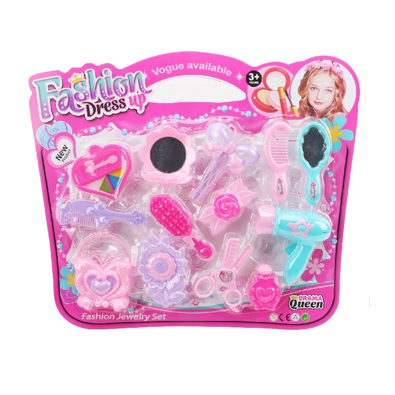 Moda çocuklar takı DIY boncuk oyuncaklar kız için Juguetes güzellik seti giyinmek oyuncaklar