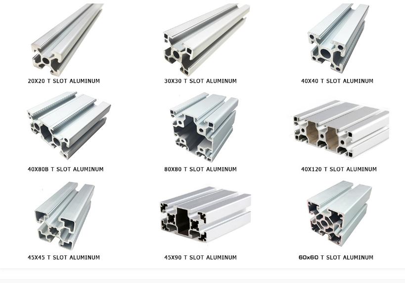 40x80 aluminium extrusion profiles