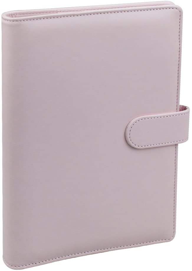 Custom PU Leather Daily Planner A5 6 Binder Planner Notebook