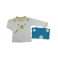 New Style Children Girls Boys lovely animal modeling Long Sleeves T shirt