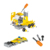 DIY disassembly truck toy  friction car toy educational building blocks with light and music for kids