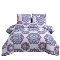 Hot Sales Bedding Article Europe and America Size Bohemian Ethnic-Style, Three Sets of Quilt Cover Textile