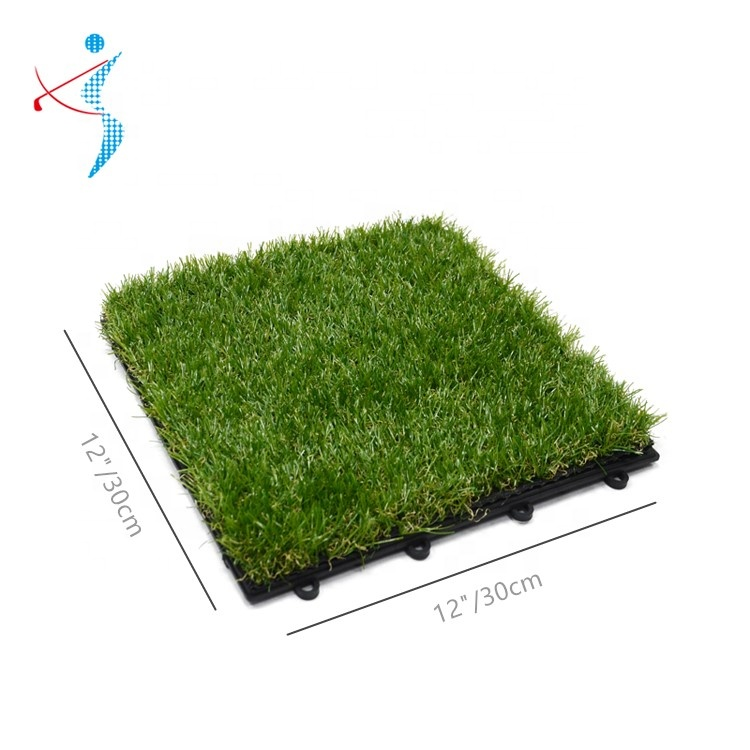 Home Decor <strong>Turf</strong> <strong>Lawn</strong> Carpet Plastic <strong>Synthetic</strong> Artificial Grass 30x30cm