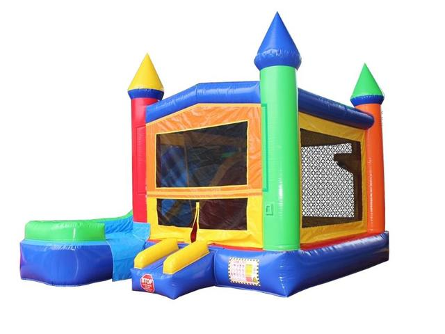 High Quality Bounce House Bouncy Castle Castle Combo for Sale 7 in 1 PVC