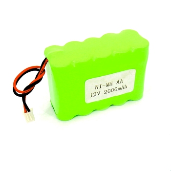 MH Ni-Mh AA 1500mAh 12v Rechargeable battery pack for emergency lights