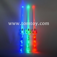 Tomtoy 9 LED Plastic Toy Light up Swords with Baby Shark