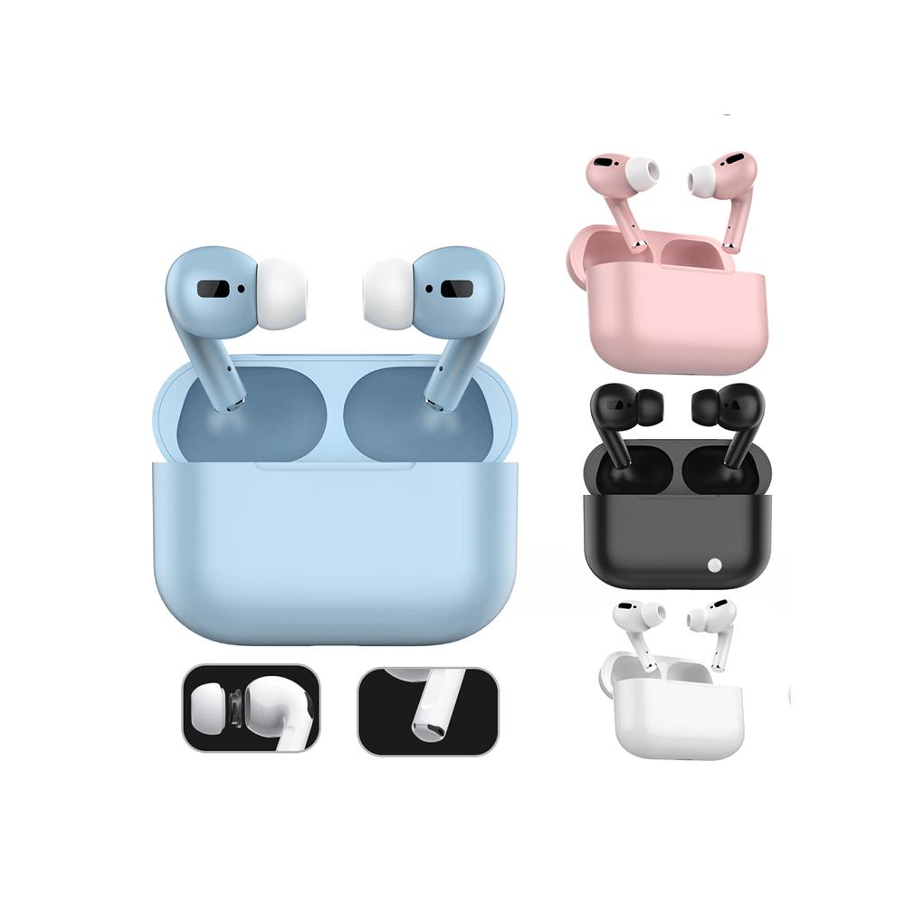 TWS BT 5.0 su geçirmez gürültü iptal Handsfree spor kablosuz şarj Bluetooth kulaklıklar