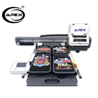 APEX DTG printer inkjet digital textile printer fabric t shirt cloths printing machine UV printers for Sale