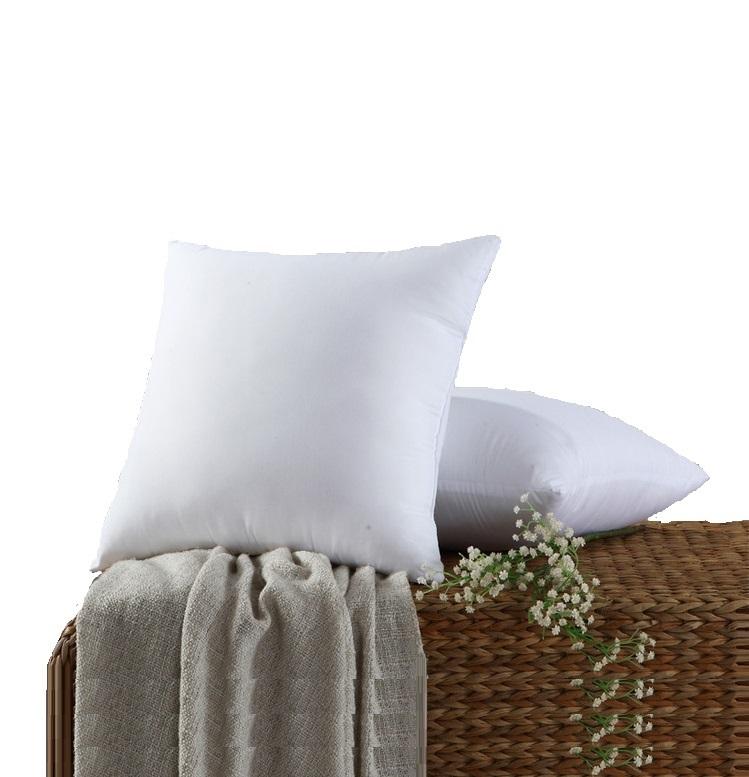 Groothandel 45*45 Cm 16X16 18X18 20X20 Alle Size Biologische Pp Katoen Microfiber stof Sofa Vierkante Kussen Innerlijke Sierkussen Inserts