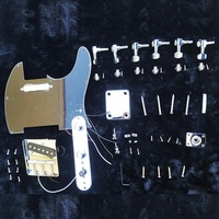 Black Color Loaded Prewired Pickguard With Magnet Pickups Electric Guitar Accessories