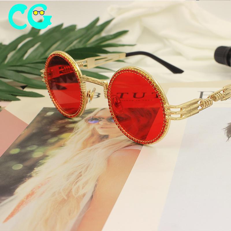 빈티지 고양이 눈 선글라스 남자 2020 럭셔리 타원형 크리스탈 안경 패션 안경 UV400 Gafas de sol mujer