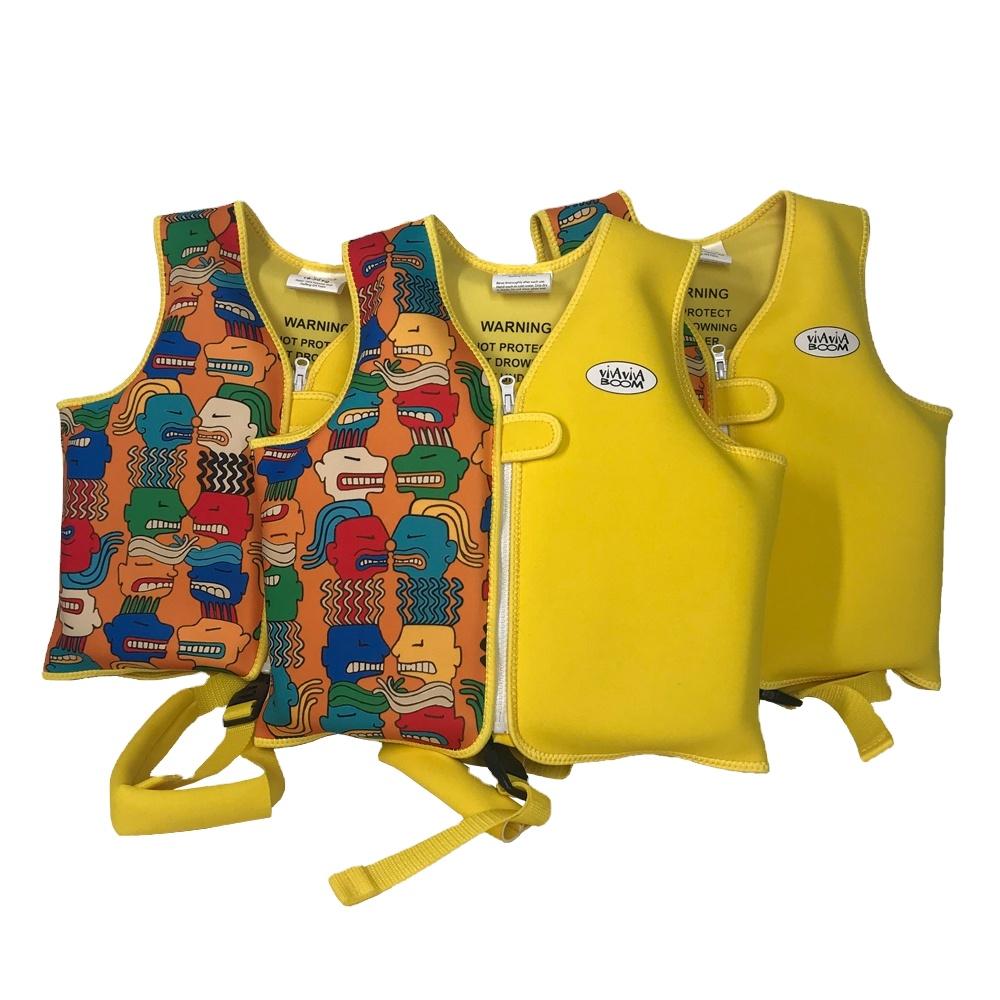 Dongguan Neoprene Products Manufacturer Children Swim Vest