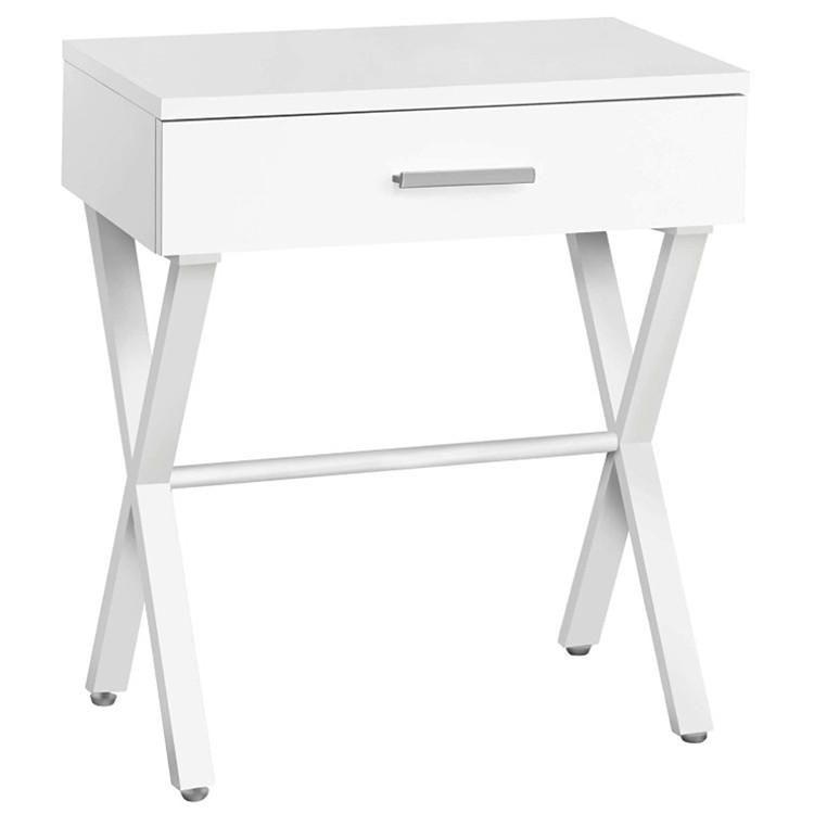 Cheap high quality simple bedside furniture fancy exquisite strong solid wood night table