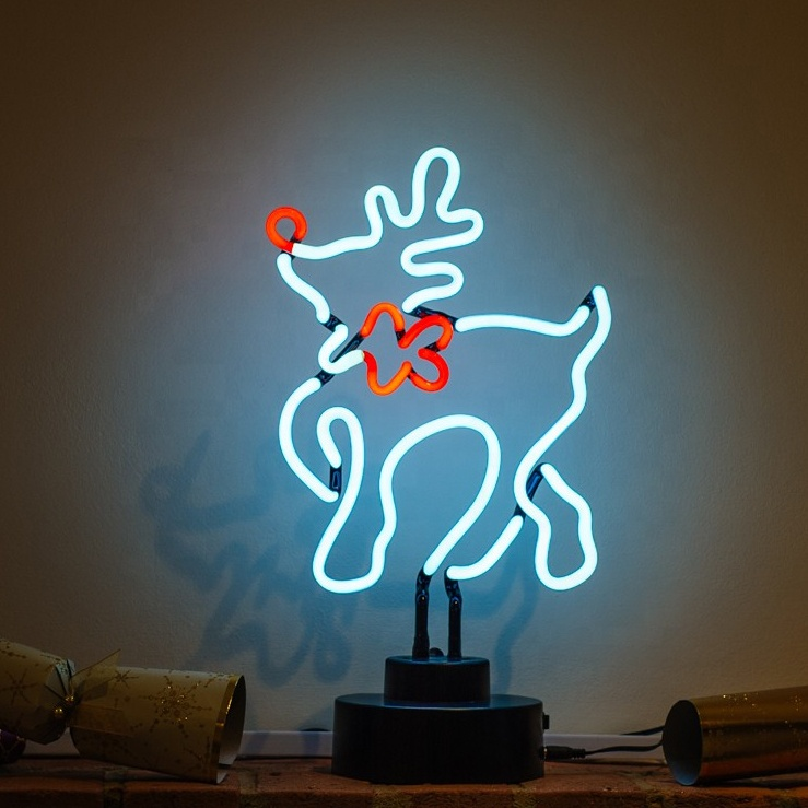 2020 Most Popular Christmas Theme Art Sign Making Lighting Decoration Sign LED Strip Neon Sign For Kids