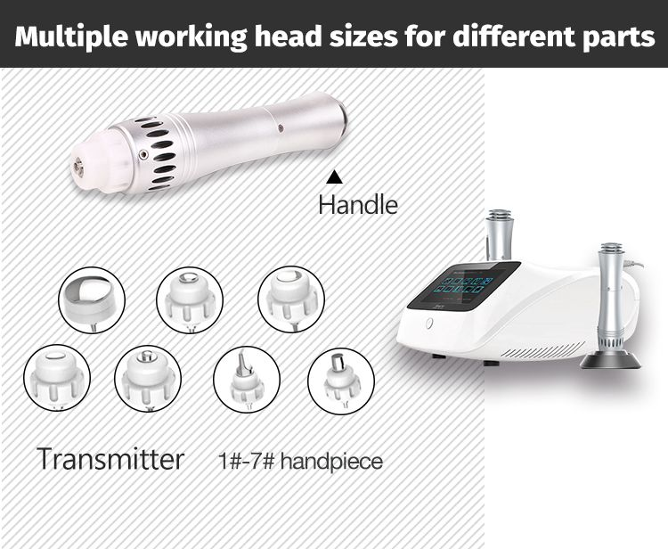 Portable mini erectile dysfunction shockwave therapy machine for sale