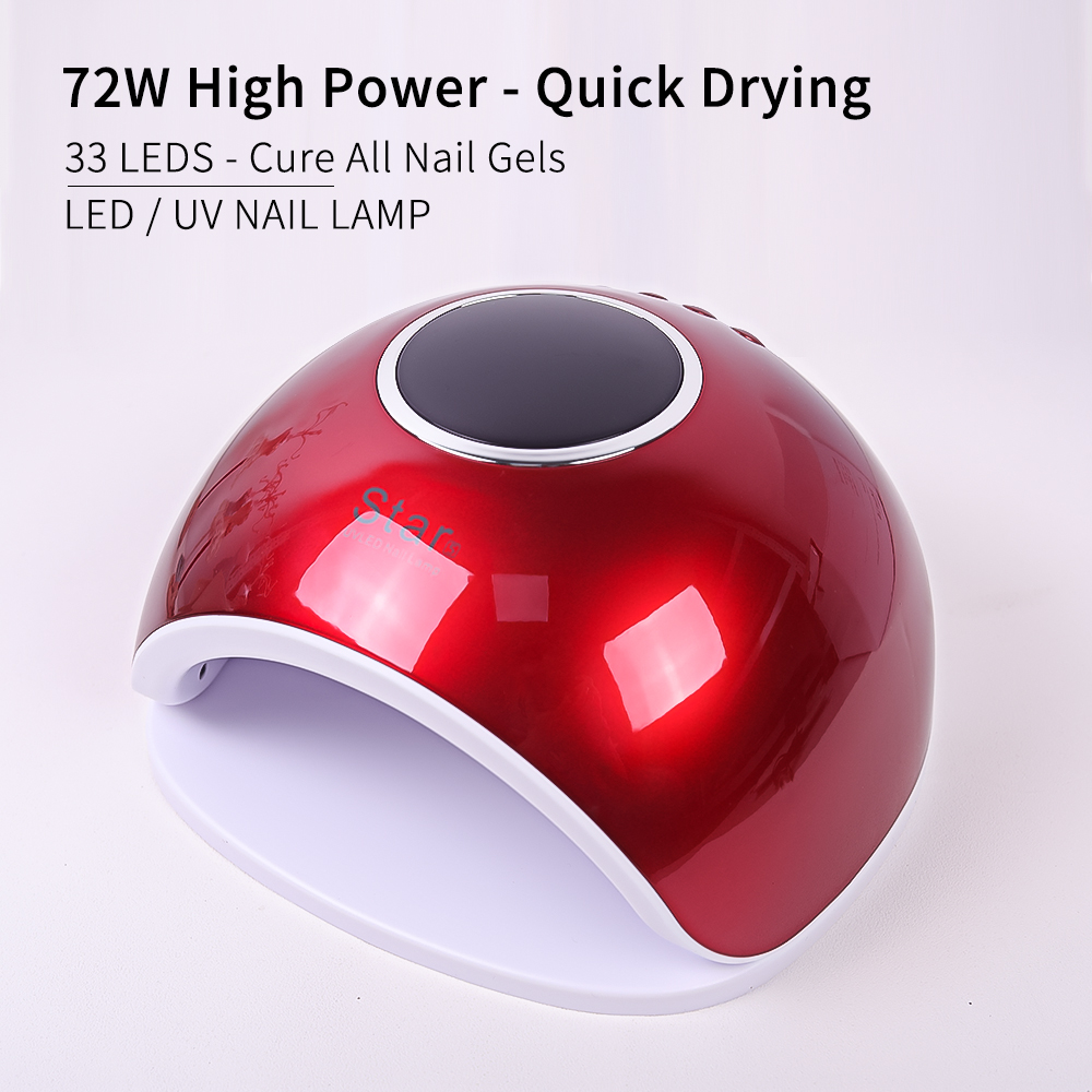 Factory portable curing uv lamp light dryer 72w for manicure
