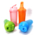 Wholesale 400ml 600ml Colorful Eco Friendly Custom Logo Plastic Gym Protein Shaker Bottle