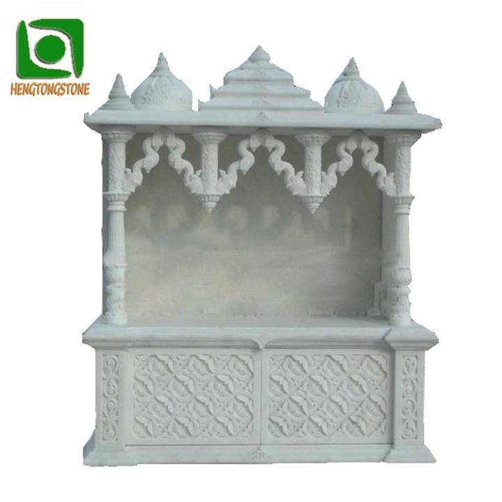 Mármol diseño del templo para la decoración de la casa