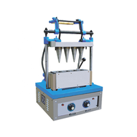 Fast speed ice cream waffle cone making machine ice cream cone maker