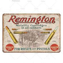 Пистолеты винтажная Оловянная табличка металлическая винтажная Ретро металлическая вывеска декор для стены для человека пещерная пушка м...(Китай)